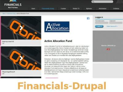 financials drupal