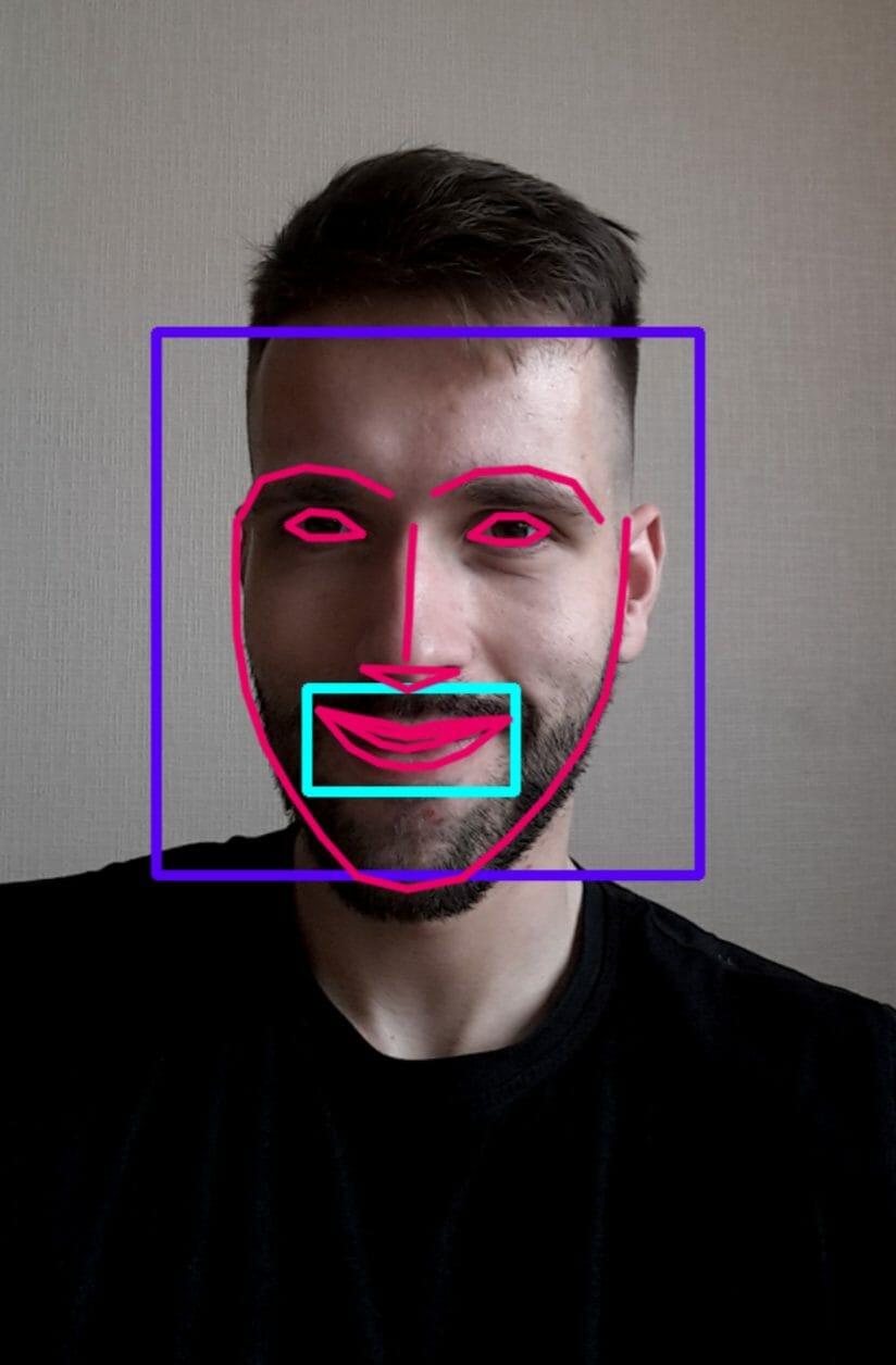 face detection app