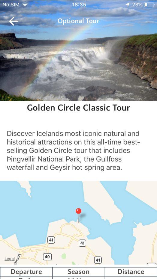 golden circle classic tour