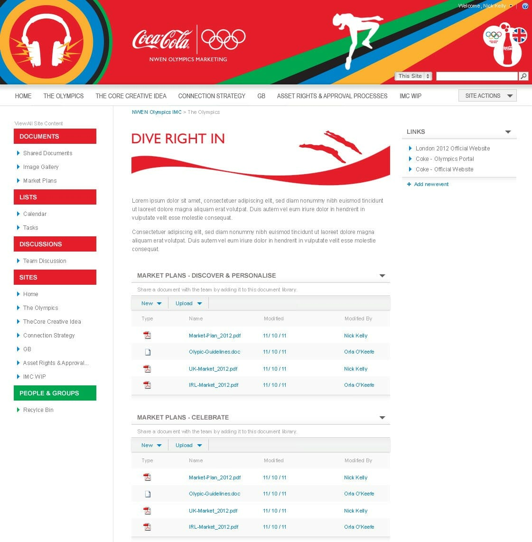 coca cola olympics 1