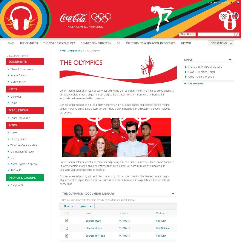 coca cola olympics 2