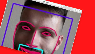 face recognition red