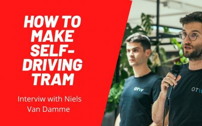 How to Make a Self-Driving Tram? Interview with Niels van Damme
