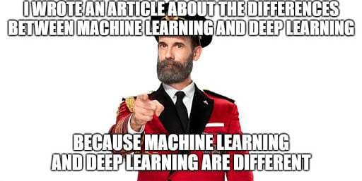deep and machine learning