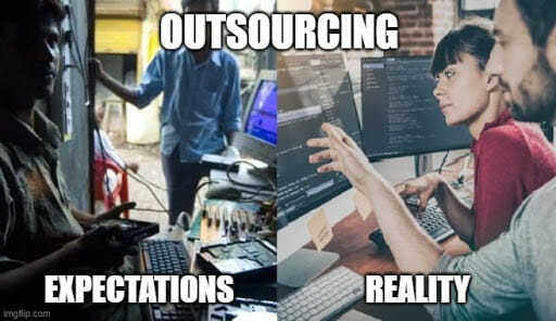 outsourcing benefits in software development