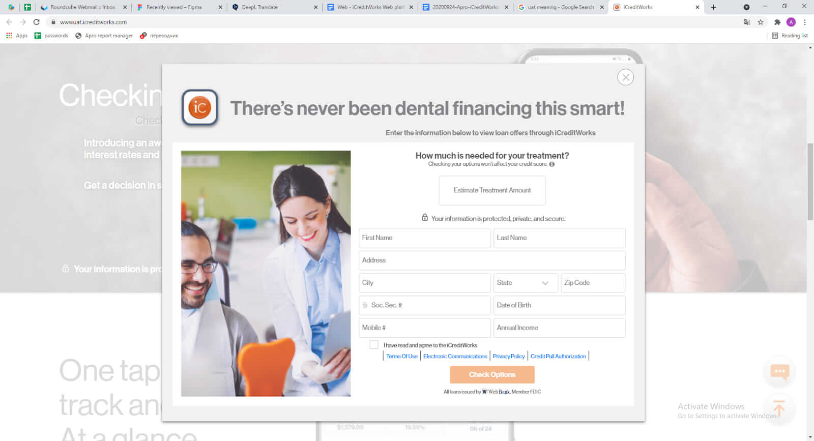 loans to dental patients app