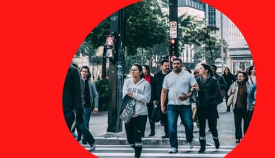 pedestrian traffic ai forecast