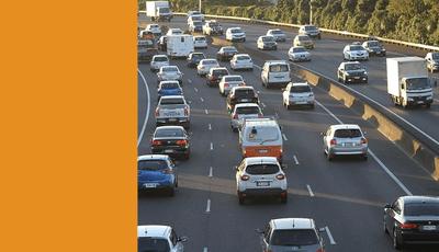 car traffic density forecast ai